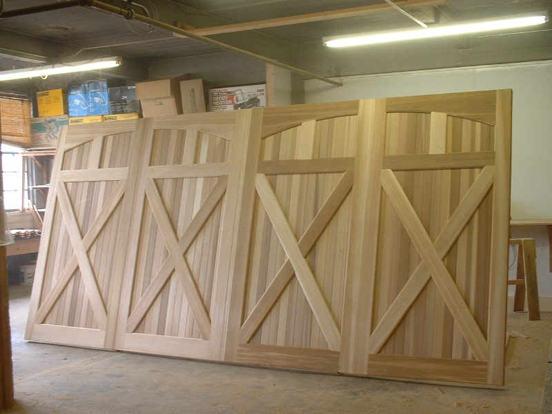Clingerman Builders Custom Wood Garage Doors Gallery