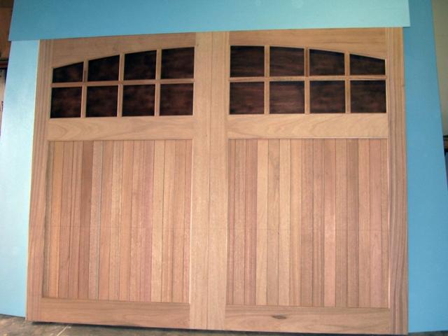 Clingerman Builders Custom Wood Garage Doors Gallery