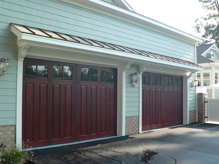 Clingerman Doors Custom Wood Garage Clearville PA