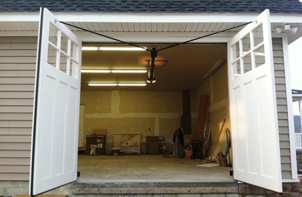 Automatic Swing Out Garage Doors amp Carriage Style