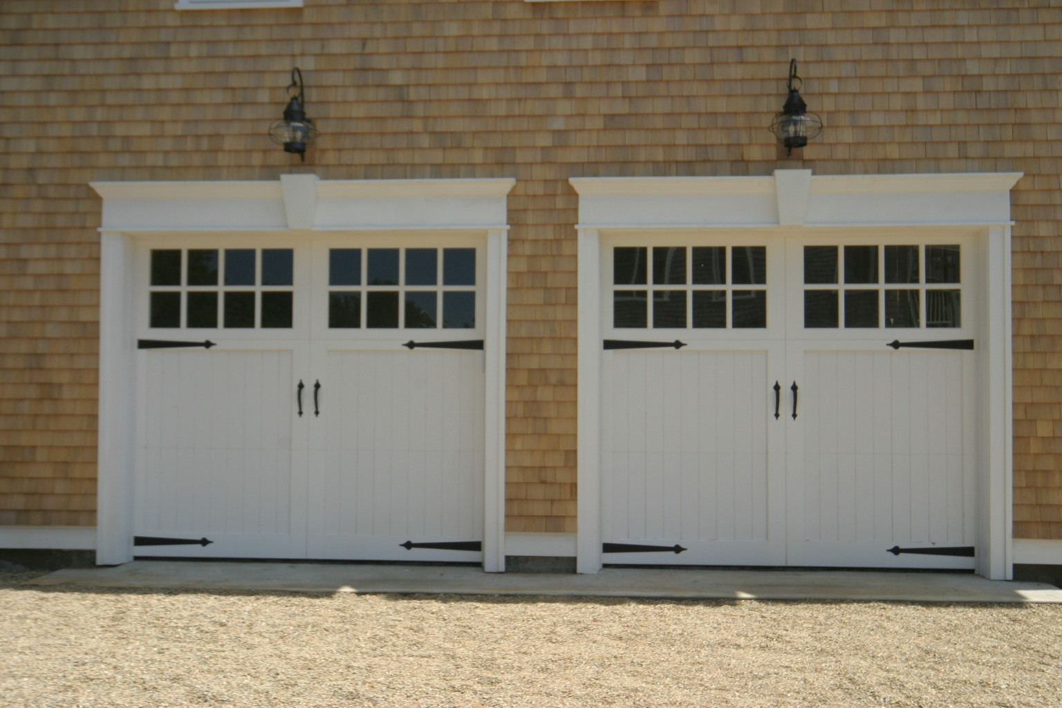 Clingerman doors decorative hinges handles and hardware for Home hardware garages