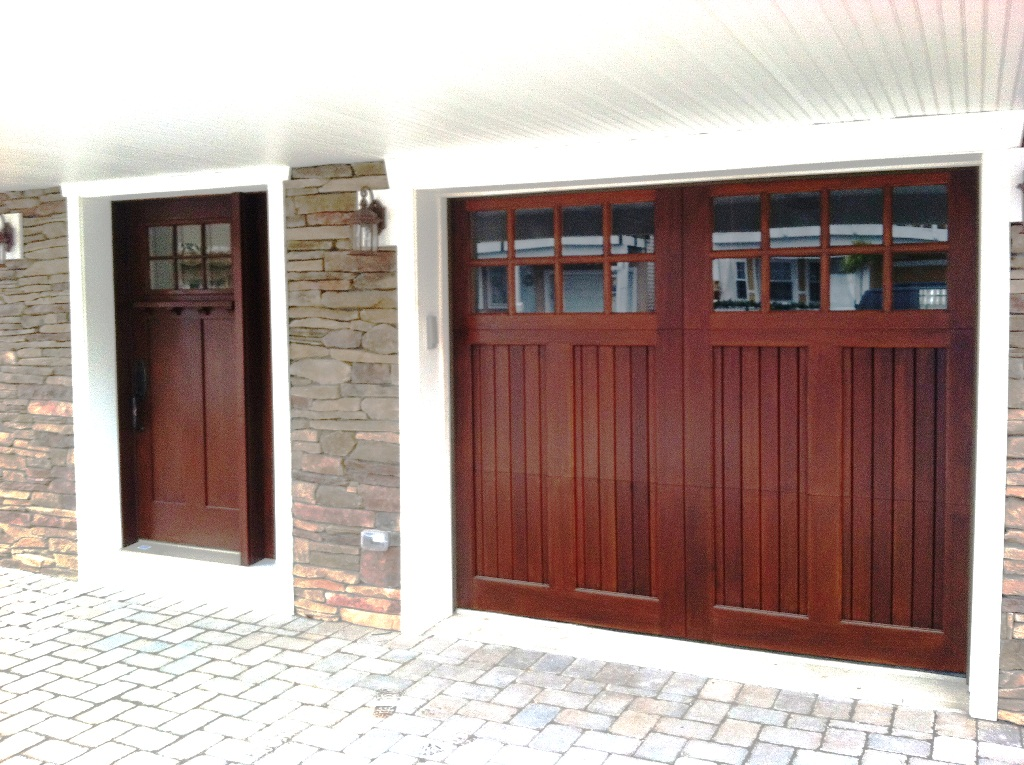 Clingerman doors custom wood garage doors clearville pa for Exterior garage doors
