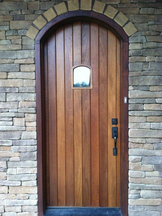 wooden entry doors.  Clingerman Doors Custom Wood Garage Clearville PA
