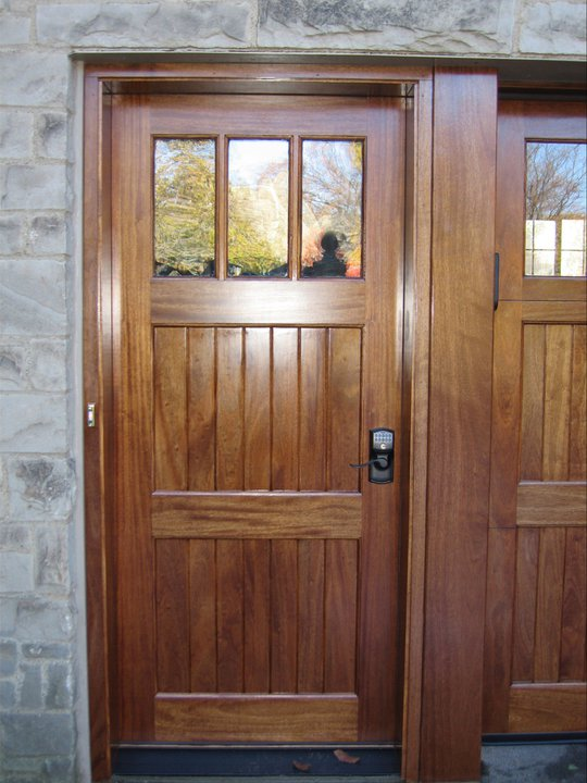 Clingerman doors custom wood garage doors clearville pa for Custom wood entry doors