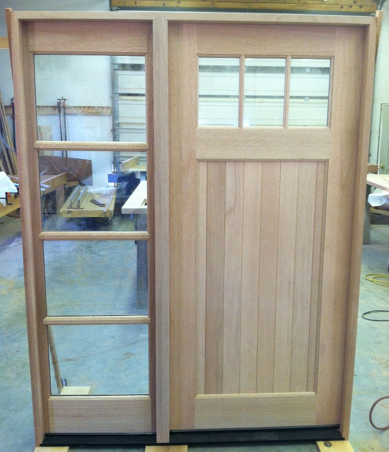 Custom Designs Are Available And They Can Be Ordered As Pre Hung Units. We  Accommodate Any Door Swing, Door Size And Jamb Width.