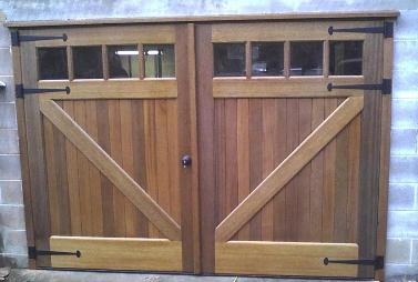 Homemade Carriage Garage Doors Woodworking Talk