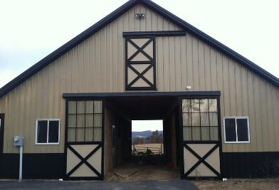 Clingerman doors custom wood garage doors clearville pa Garage with doors on both sides